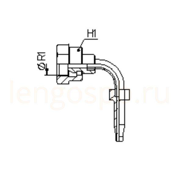 Фитинги BSP (г) внутренняя резьба угол 90°