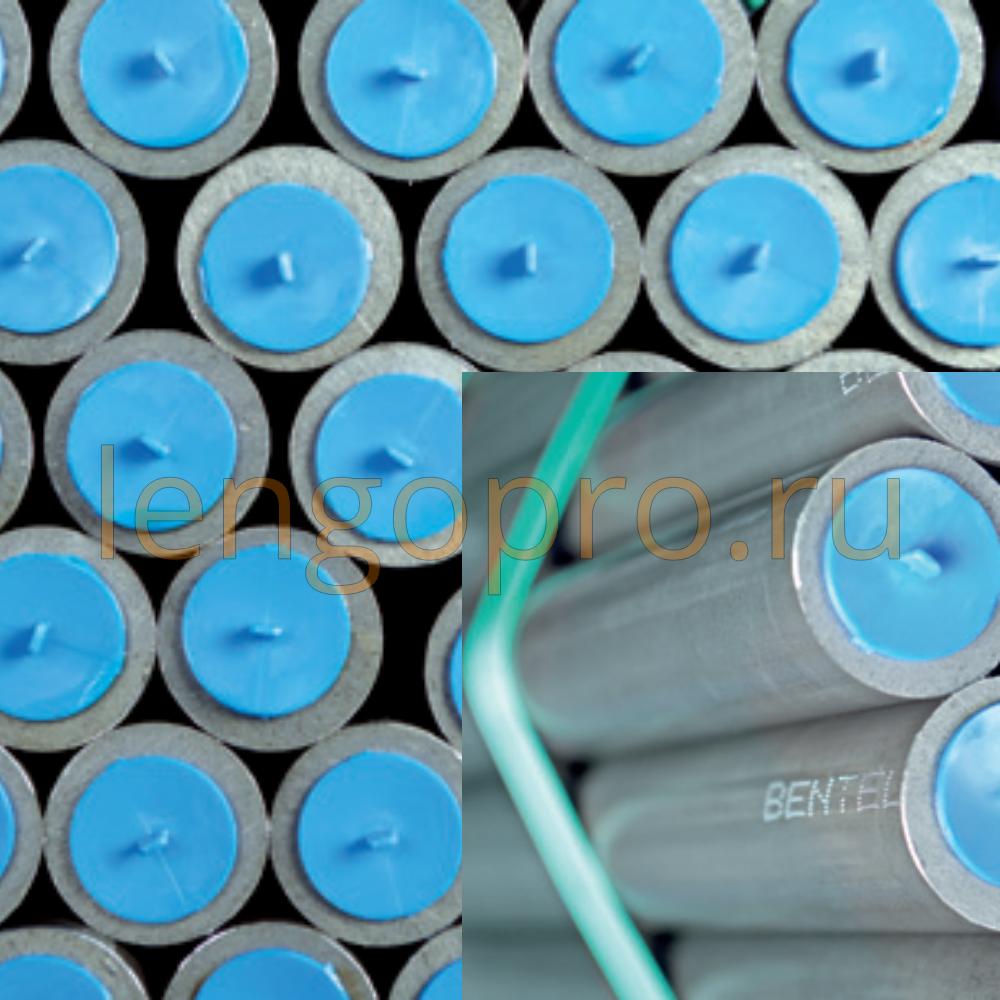 Труба гидравлическая прецизионная оцинкованная E235+N