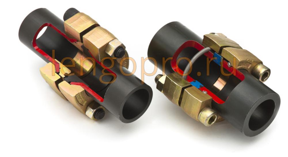 Фланцевые соединения 37 и фланцевое соединение со стопорным кольцом GS-Hydro Parker и Tube-Mac