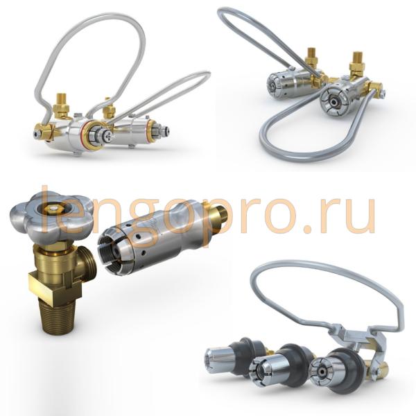Газопереработка - соединители для заполнения сжатым газом