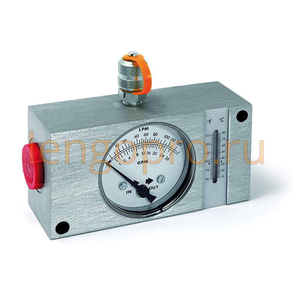 Расходомер, индикатор давления, температуры и расхода жидкости Minipress